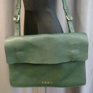 Marc By Marc Jacobs Men's Green Messenger Bag